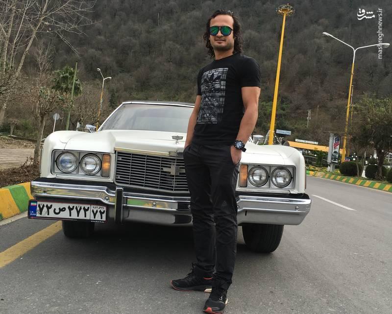 اتومبیل خاص پیمان حسینی بهترین دروازه بان جهان