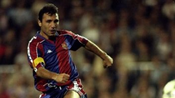 هریستو استویچکوف مهاجم بارسلونا