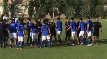 کلیپی از تمرین تیم فوتبال استقلال تهران باحضور ستاره های جدید