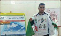 محمد داداشی نایب قهرمان المپیک کارگری