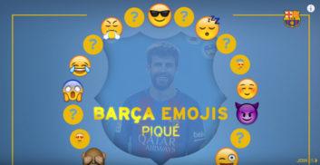 چالش انتخاب استیکر پیکه برای سایر بازیکنان بارسلونا