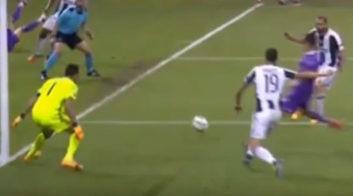 گل سوم رئال مادرید به یوونتوس