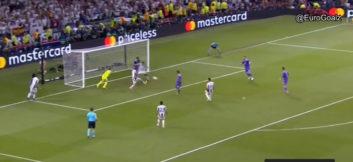 گل چهارم رئال مادرید به یوونتوس
