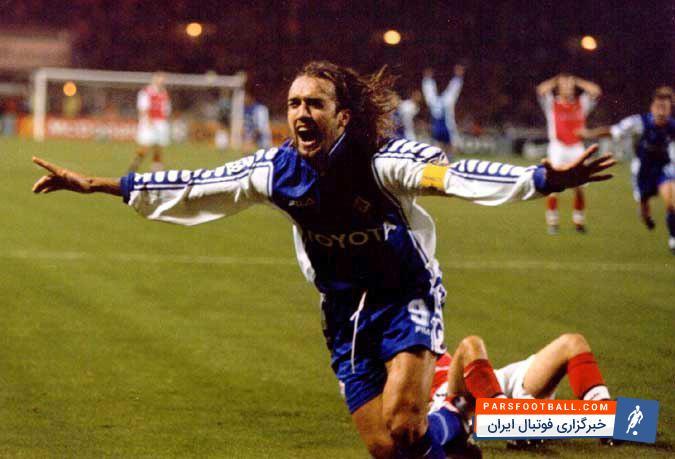 فیلم ؛ سوپر گل گابریل باتیستوتا مقابل آرسنال در سال 1999 ؛ پارس فوتبال