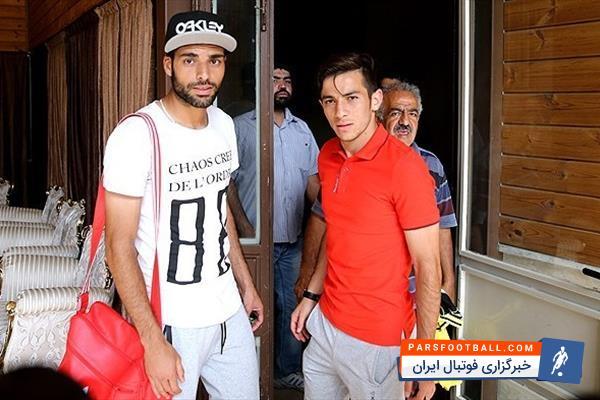 احمدزاده پس از چند روز غیبت، به تمرینات پرسپولیس بازگشت ؛ پارس فوتبال