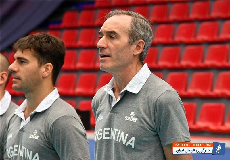 الخاندرو گروسی : بازیکنان من در پایان مسابقه خیلی خوب بازی کردند