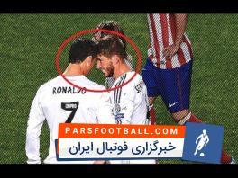 درگیری هم تیمی ها در فوتبال