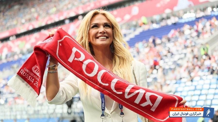 مراسم افتتاحیه جام کنفدراسیون های 2017 روسیه در ورزشگاه سن پترزبورگ برگزار شد