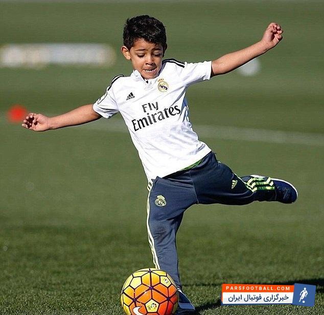 فیلم ؛ مهارت های دیدنی جونیور پسر رونالدو ستاره رئال مادرید ؛ پارس فوتبال
