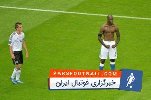 دبل ماریو بالوتلی بازی ایتالیا آلمان یورو 2012
