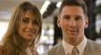 زوج لیونل مسی و آنتونلا روکوزو