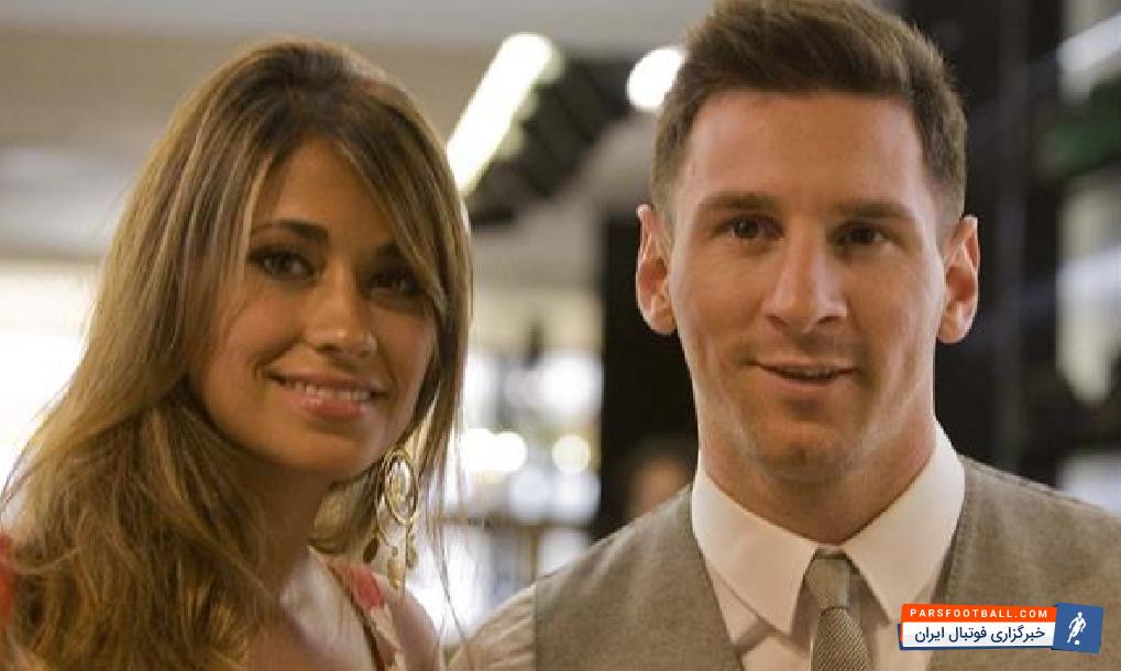 مسی فوق ستاره بارسلونا ازدواج کرد و تصویری از خود در لباس دامادی منتشر کرد