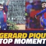 لحظات برتر پیکه در آکادمی بارسلونا