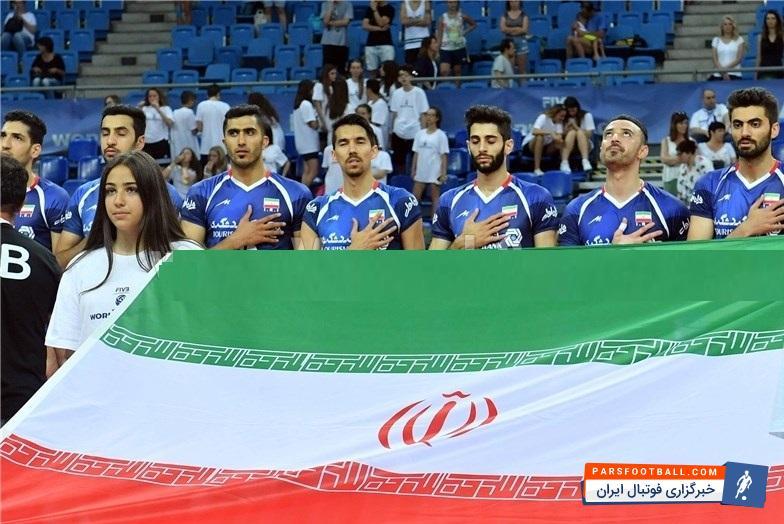 فیلم ؛ شکست تیم ملی والیبال ایران مقابل برزیل در لیگ جهانی ؛ پارس فوتبال