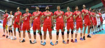 لیگ جهانی والیبال تیم ملی والیبال