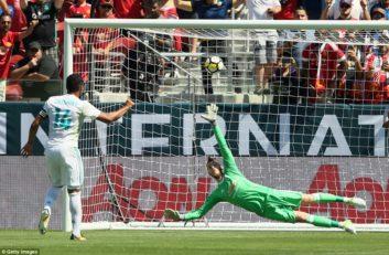 عملکرد دیدنی داوید د خیا مقابل رئال مادرید