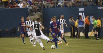خلاصه بازی یوونتوس برابر بارسلونا در دیدار تدارکاتی