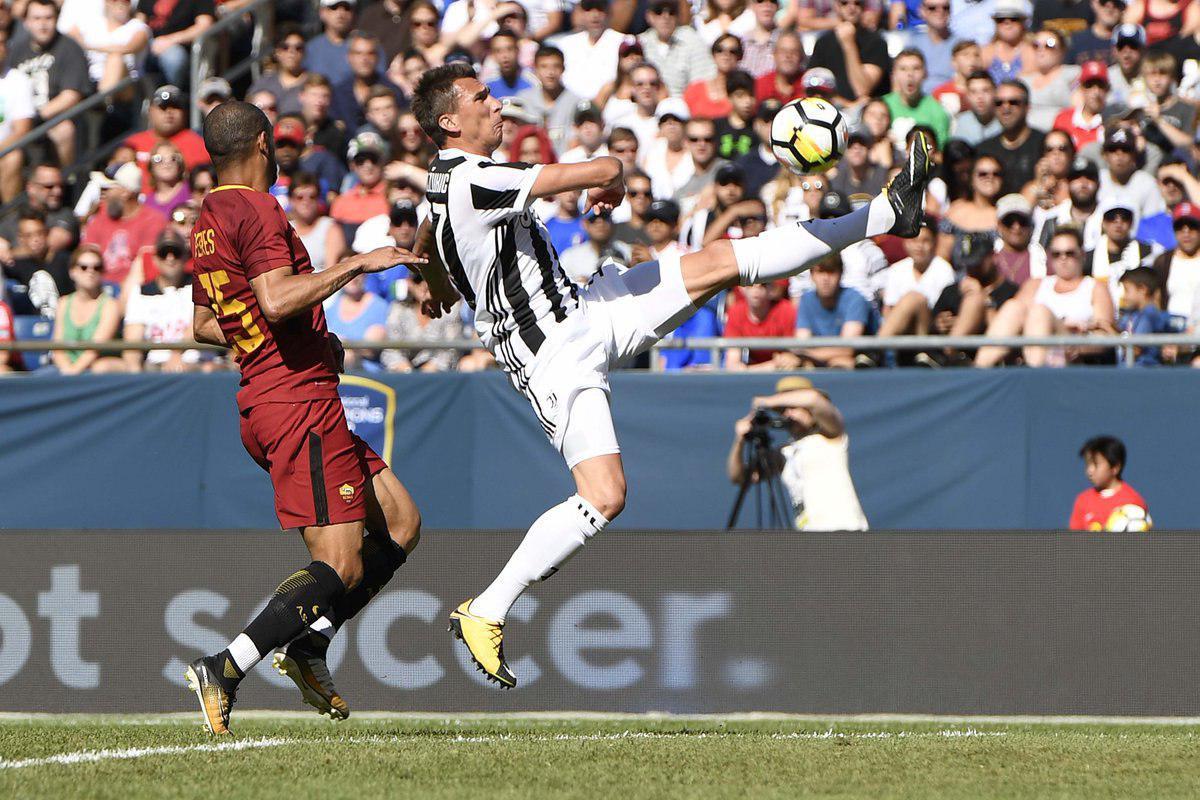 پیروزی یوونتوس مقابل رم در دیداری دوستانه چمپیونزکاپ ؛ پارس فوتبال