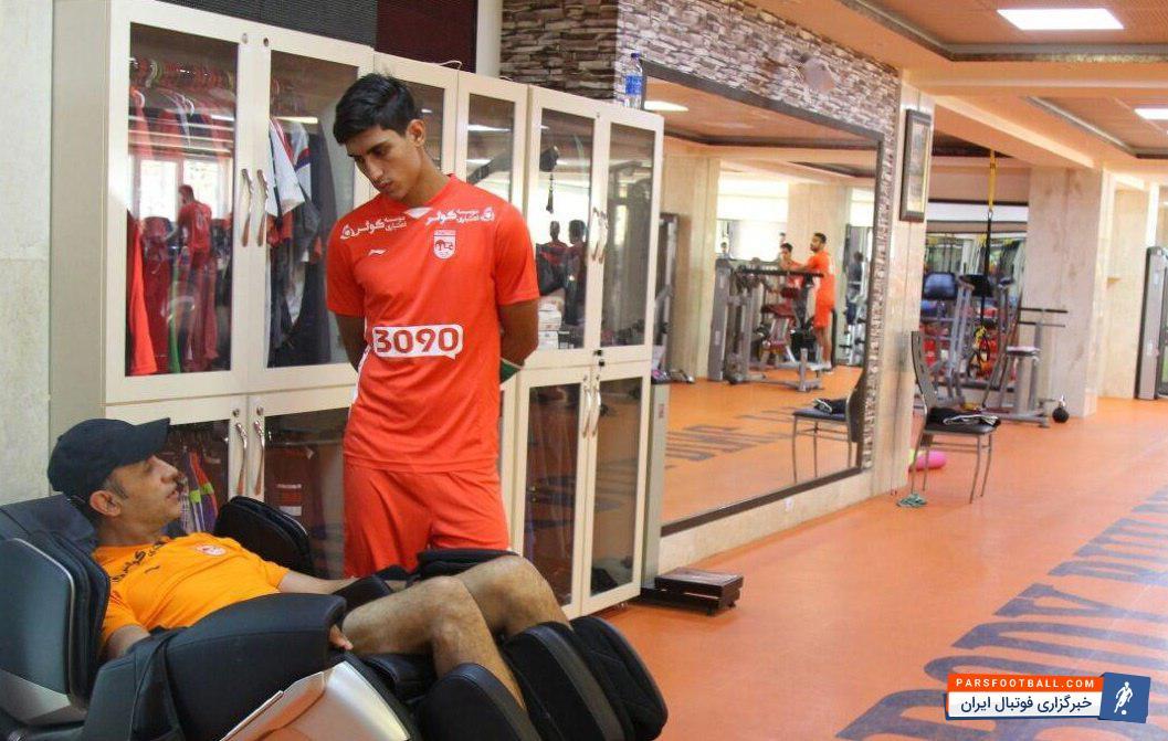 محمد نادری انتظارات را برآورده کرد ؛ این ستاره جوان قرمزها انتظارات را برآورده کرد