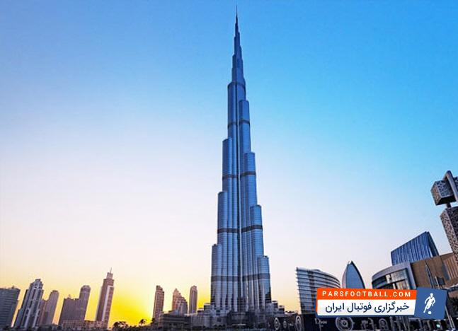 برج خلیفه دبی ، جایی که بشر به آسمان دست میساید