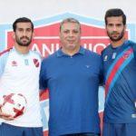 مسعود شجاعی و حاج صفی در پانیونیوس