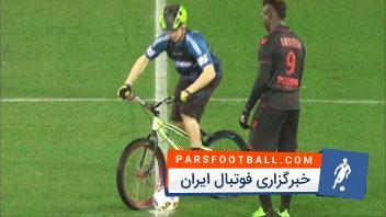 صحنه های فان و خنده دار دنیای فوتبال