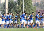 تمرین استقلال در ارمنستان