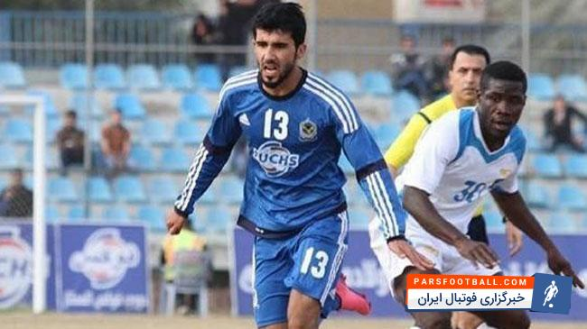 بشار رسن مدافع هافبک عراقی پرسپولیس