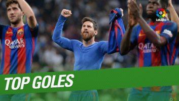 گل های برتر بارسلونا لالیگا 2016/2017