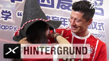 استقبال از ستاره بایرن مونیخ در چین
