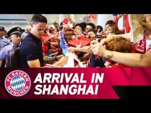 استقبال از بایرن مونیخ در شانگهای چین