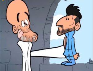 خیانت پشت پرده گواردیولا به آگوئرو در انیمیشن عمر مومنی