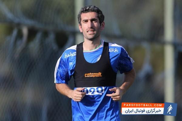 جباری ؛ تمرین اختصاصی جباری در حاشیه تمرین استقلال ؛ پارس فوتبال