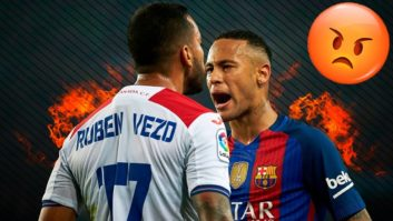 درگیری های نیمار در بارسلونا