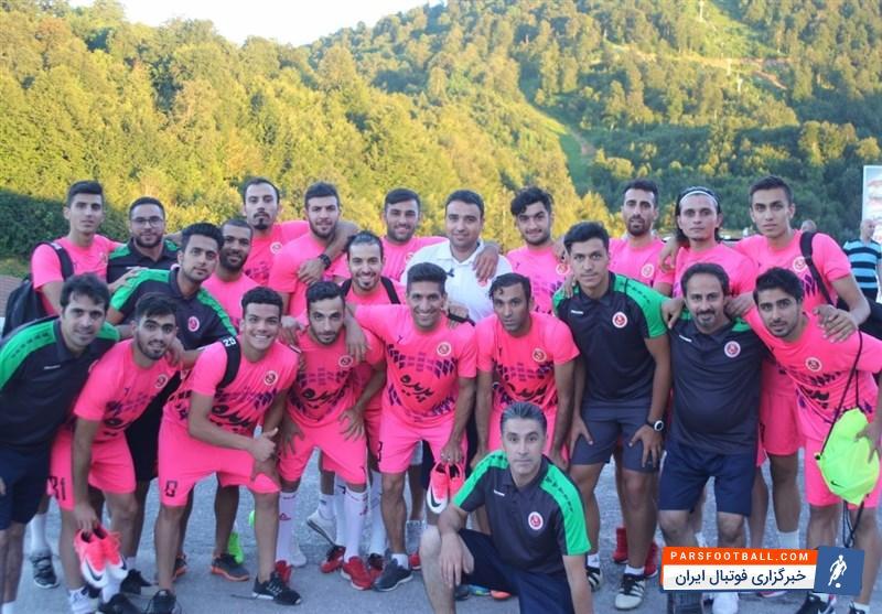 تیم پدیده تمرین امروز خود را در سالن انجام داد | خبرگزاری فوتبال ایران