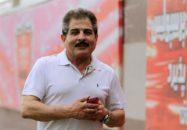 محمد پنجعلی پیشکسوت باشگاه پرسپولیس