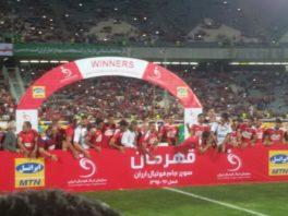 پرسپولیس برنده سوپرجام فوتبال ایران