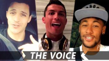 خوانندگی ستاره های فوتبال