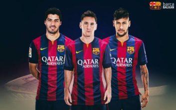 چالش تیر دروازه ستاره های بارسلونا