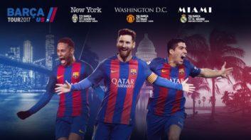 تور پیش فصل بارسلونا در آمریکا