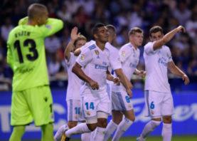 دیپورتیوو لاکرونیا در برابر رئال مادرید