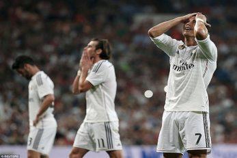 موقعیت های از دست رفته رئال مادرید در سال های اخیر