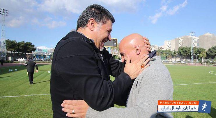 تبریک پیروزی منصوریان به دایی و شاگردانش ؛ خبرگزاری فوتبال ایران