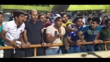 اعتراض هواداران استقلال تهران