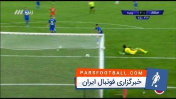 گل دوم پدیده مشهد به استقلال تهران
