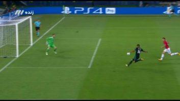 گل اول تیم فوتبال رئال مادرید به منچستریونایتد