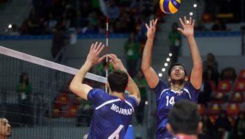 تیم ملی والیبال نوجوانان ایران برابر روسیه