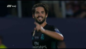 گل دوم تیم فوتبال رئال مادرید به منچستریونایتد