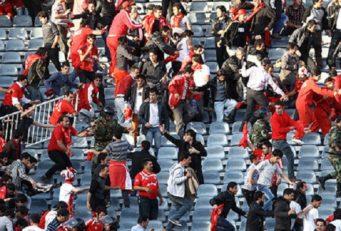 درگیری هواداران استقلال و تراکتورسازی