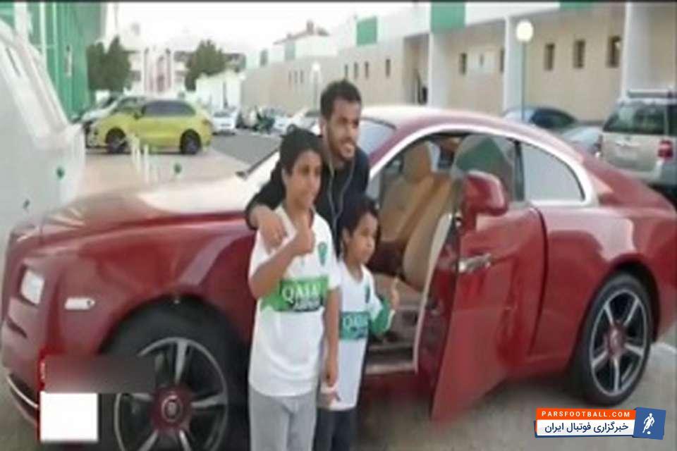 الاهلی عربستان حریف پرسپولیس در لیگ قهرمانان آسیا با خودروهای لاکچری که از طرف باشگاه به بازیکنان داده شده است